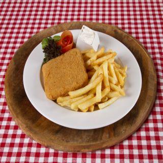 8. Vyprážaný syr