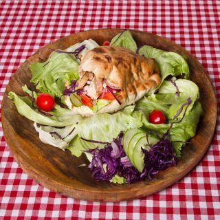 8. Kurací kebab v pita chlebe